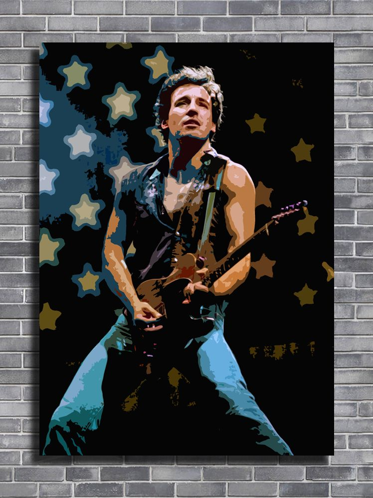 BRUCE SPRINGSTEEN POSTER ART PRINT A4 A3 SIZE BUY 2 GET ANY 2 FREE